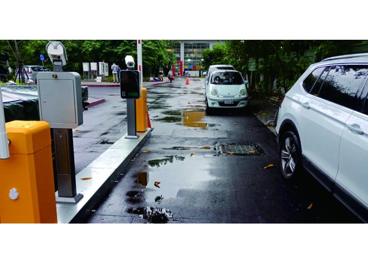 Système de gestion de stationnement ANPR