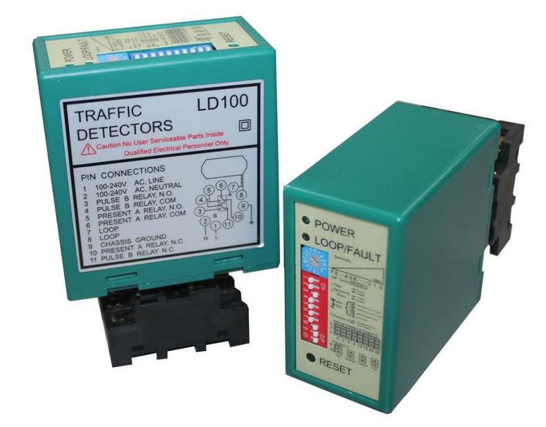 détecteur de boucle de véhicule