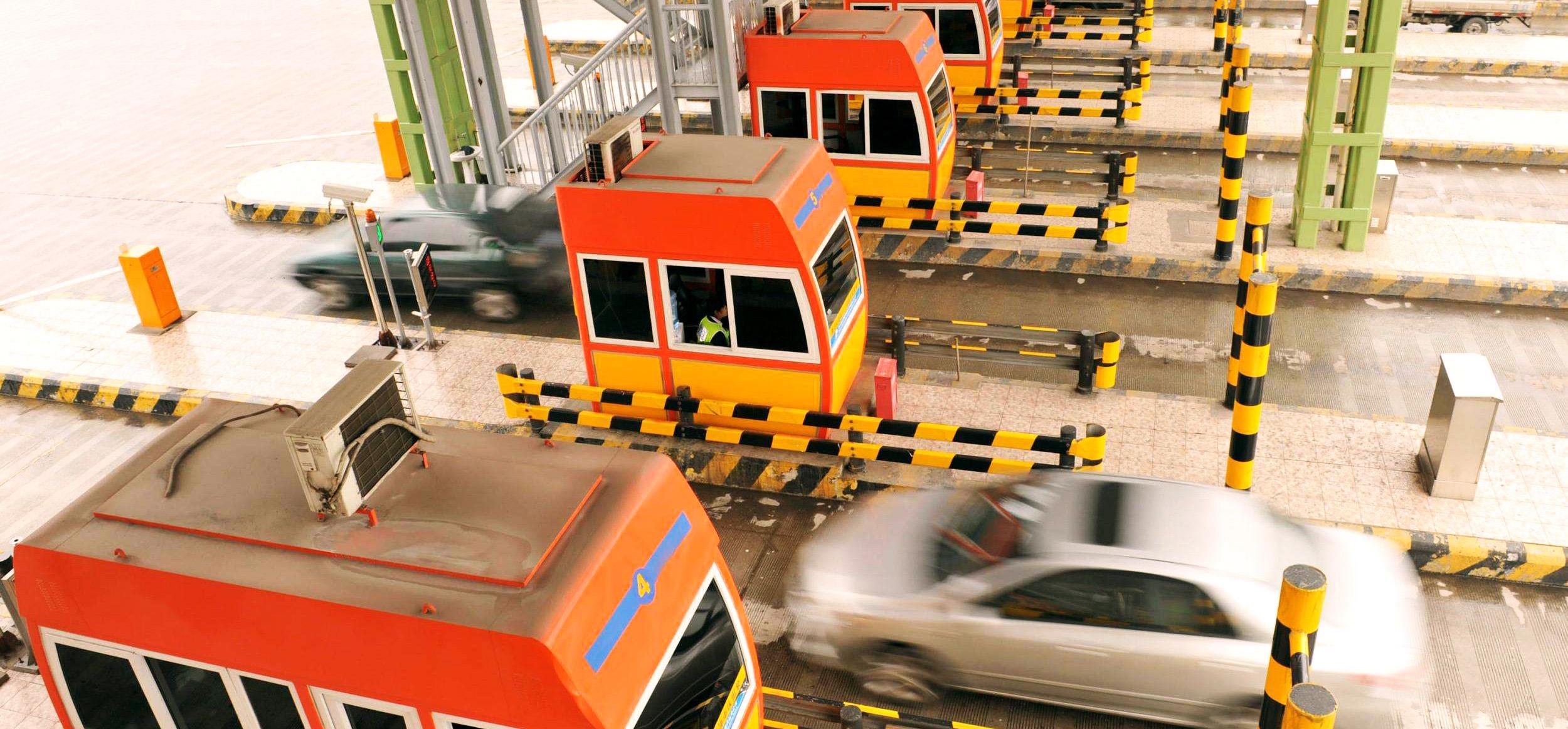 sistema de controle de tráfego de detector de loop