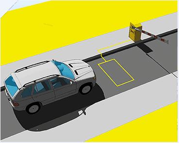 Ανιχνευτής μονού βρόχου χώρου στάθμευσης LD106