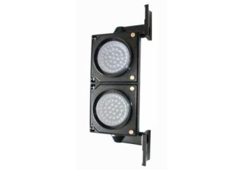 100 mm parkeerlicht voor parkeerplaatsen van toepassing