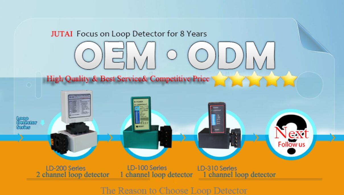 Service d'OEM / ODM de détecteur de boucle à canal unique de sensibilité élevée