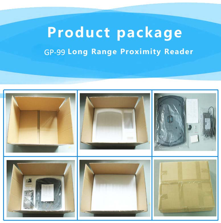 long range proximity reader package