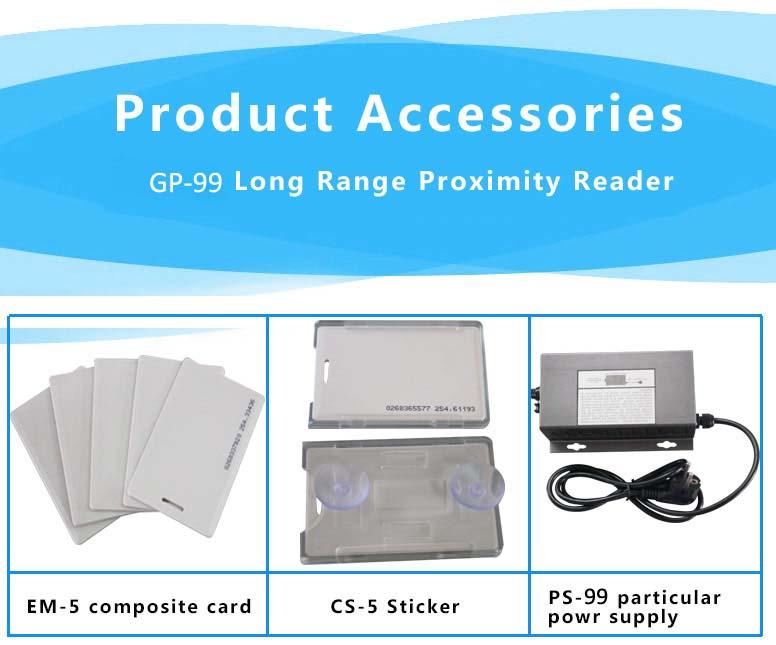 proximity reader parts