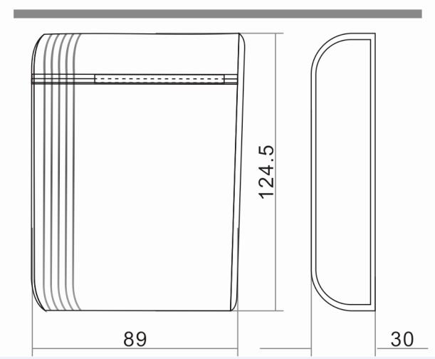 2.6mハンズフリードアアクセスコントロール