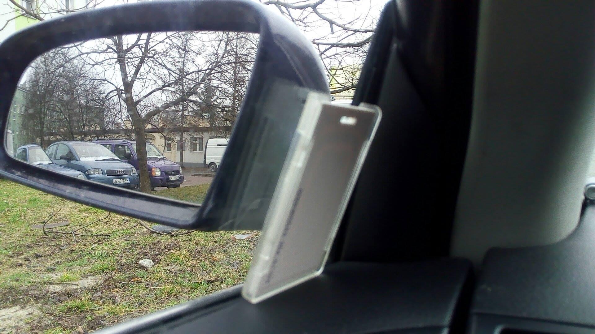 Autocollant de carte de contrôle d'accès mains libres