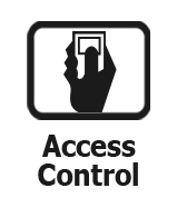 Panneau de contrôle d'accès de porte
